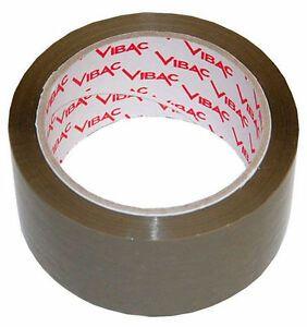 Hűtőházi ragasztószalag, barna 48/66 ( VIBAC )