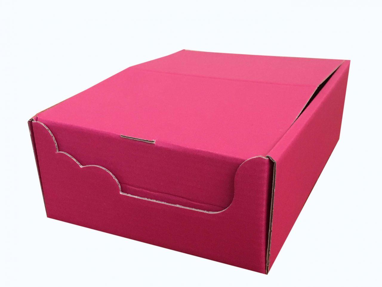Csomagoló doboz, POS Gyűjtő-Kínáló, 130*190*60mm