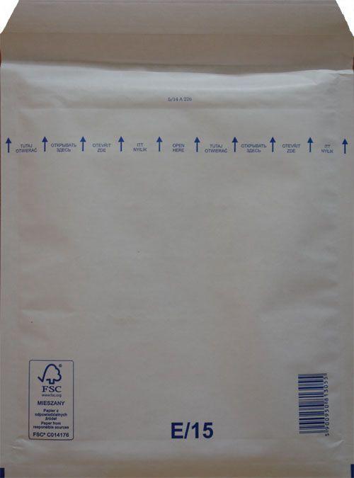 Légpárnás Boríték E/15 Fehér Légpárnás tasak (50 db/csomag)