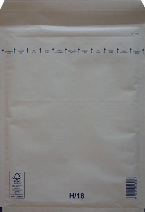 Légpárnás Boríték H/18 Fehér Légpárnás tasak (100 db/doboz)