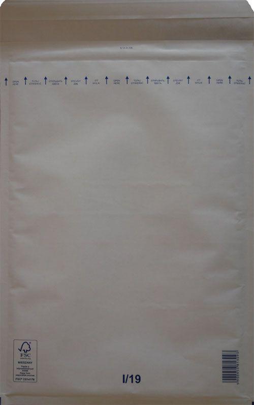 Légpárnás Boríték I/19 Fehér Légpárnás tasak (50 db/doboz)