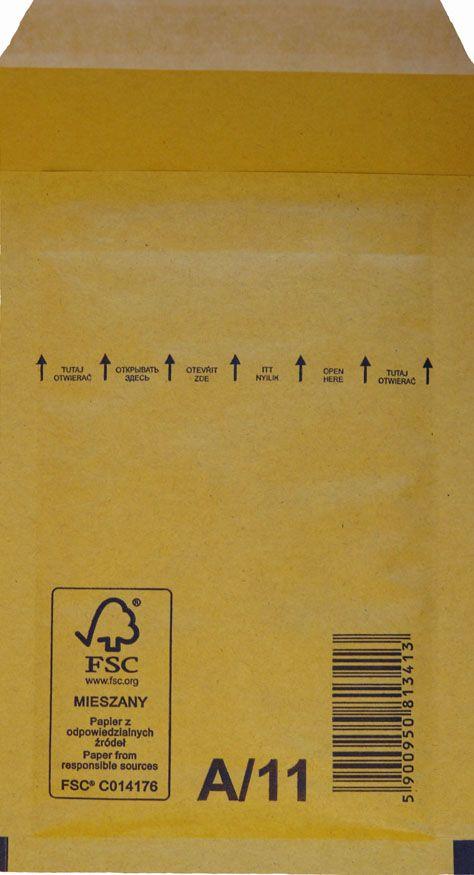 Légpárnás Boríték A/11 Barna Légpárnás tasak (200 db/doboz)