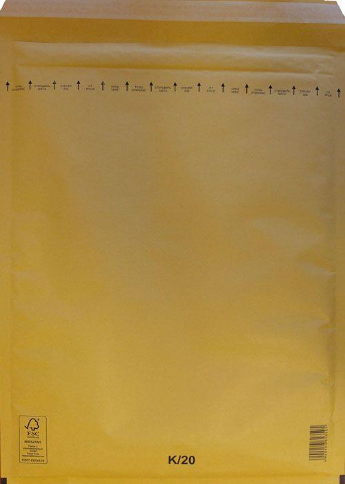 Légpárnás Boríték K/20 Barna Légpárnás tasak (50 db/doboz)