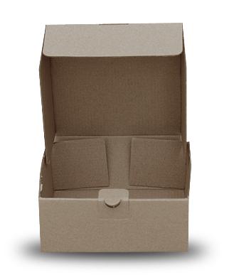 Csomagoló doboz Önzáró 145*145*60 mm 20 db/köteg