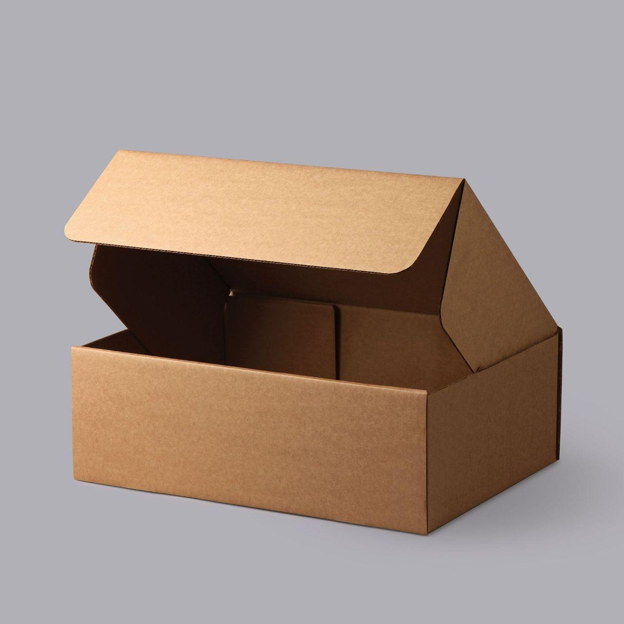 Csomagoló doboz Önzáró430*312*132mm 20 db/köteg