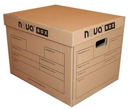 Archiváló doboz kimetszett önzáró, 410*325*300 mm, 10 db/köteg