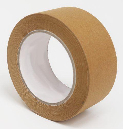 Papír öntapadós ragasztószalag 50mm/50m barna